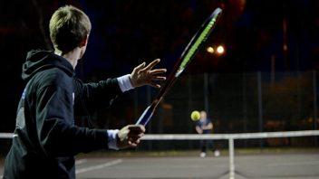 Jaunimo teniso treniruotės