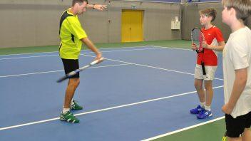 Vaikų teniso treniruotės